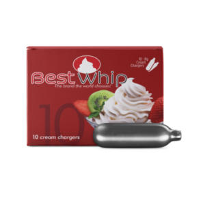 BestWhip 8gm N2O Chargers - 8 Boxes of 10
